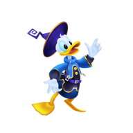 Donald Sticker (Aqua).png