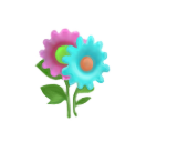 Flower Sticker (Aqua)1.png