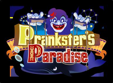 Paraíso de los Bromistas: Historia y NPCs Prankster%27s_Paradise_Logo_KH3D