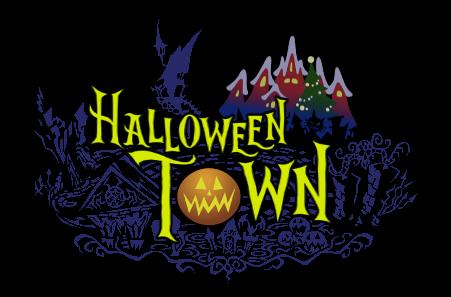 Ciudad de Halloween/Navidad: Historia y NPCs Halloween_Town_Logo_KHII