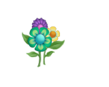 Flower Sticker (Aqua)2.png