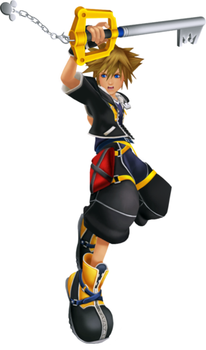 Sora (Battle) KHII.png