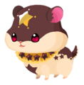 Chocolate Hamstar (Spirit) KHUX.png