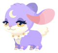 Purple Bunmoon (Spirit) KHUX.png