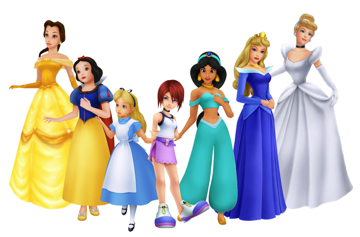 all the princesses names