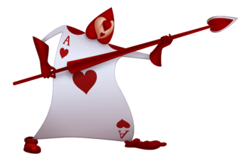 alice in wonderland card soldiers template - game queen of hearts kingdom hearts wiki the kingdom
