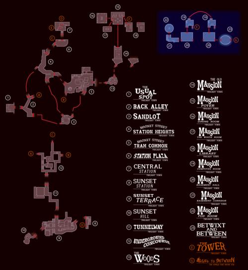 kingdom hearts traverse town map