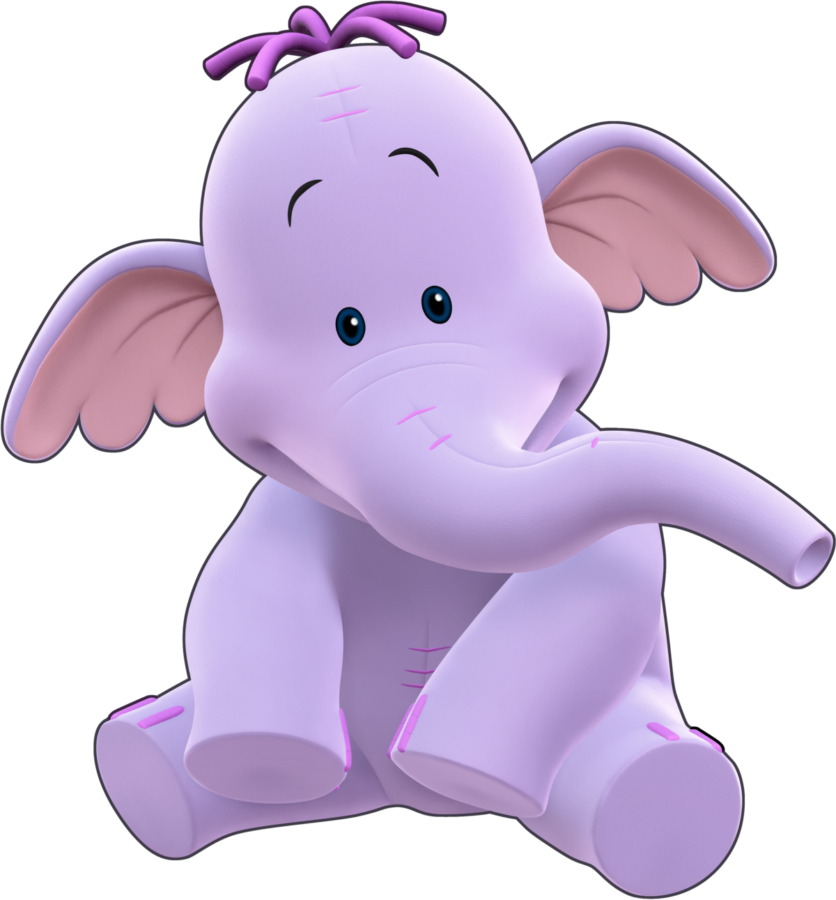 Free Lumpy The Heffalump Coloring Pages, Download Free Clip Art, Free Clip  Art on Clipart Library | 1291x1200