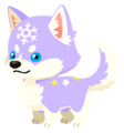 Purple Snowpup (Spirit) KHUX.png