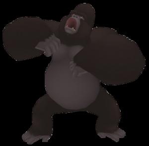 Kerchak kingdom hearts wiki the kingdom hearts encyclopedia - Tarzan gorille ...