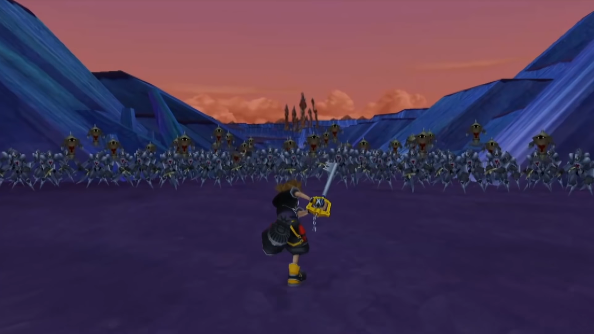 battle of the 1000 heartless kingdom hearts wiki the