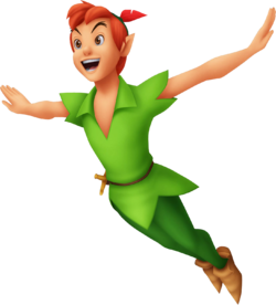 Peter pan kingdom hearts wiki the kingdom hearts for Disegni peter pan
