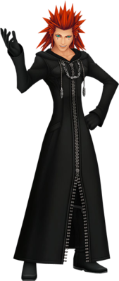 Axel - Kingdom ... Xemnas Kingdom Hearts Chibi