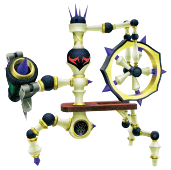 Spindle Boss Kingdom Hearts
