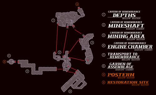 Twilight Blue >> Cavern of Remembrance - Kingdom Hearts Wiki, the Kingdom Hearts encyclopedia