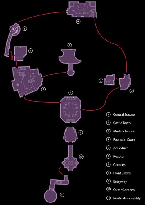 Radiant Garden - Kingdom Hearts Wiki, the Kingdom Hearts encyclopedia