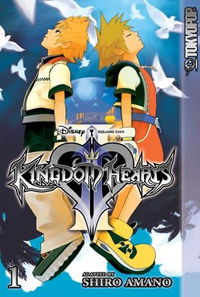 Kingdom Hearts II (English) (Tokyopop) Manga 1.png