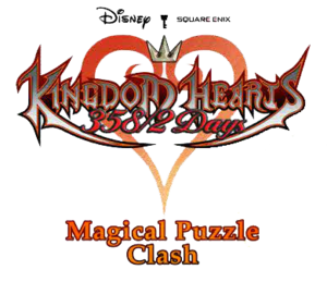 Kingdom Hearts Magical Puzzle Clash Logo KHD.png