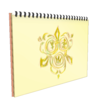 Naminé's Notebook KHII.png
