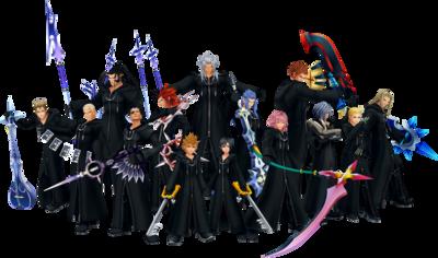 Organization XIII - Kingdom Hearts Wiki, the Kingdom