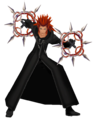 Axel (Action Render) KHII.png